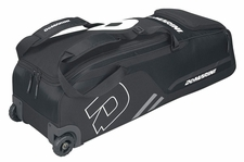 DeMarini Black Momentum Wheeled Bag WTD9406