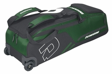 DeMarini Dark Green Momentum Wheeled Bag WTD9406