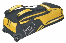 DeMarini Light Gold Momentum Wheeled Bag WTD9406