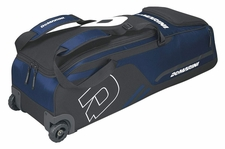 DeMarini Navy Momentum Wheeled Bag WTD9406