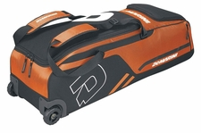 DeMarini Orange Momentum Wheeled Bag WTD9406