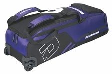 DeMarini Purple Momentum Wheeled Bag WTD9406
