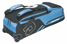 DeMarini Victory Blue Momentum Wheeled Bag WTD9406
