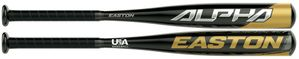 "Easton Alpha 2-1/4"" Youth USA Tee Ball Bat TB20AL10 -10oz (2020)"