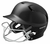 Easton Black Junior Z5 Helmet W/Softball Mask A168084