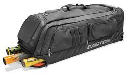 Easton Black Pro X Wheeled Bat Bag A159040