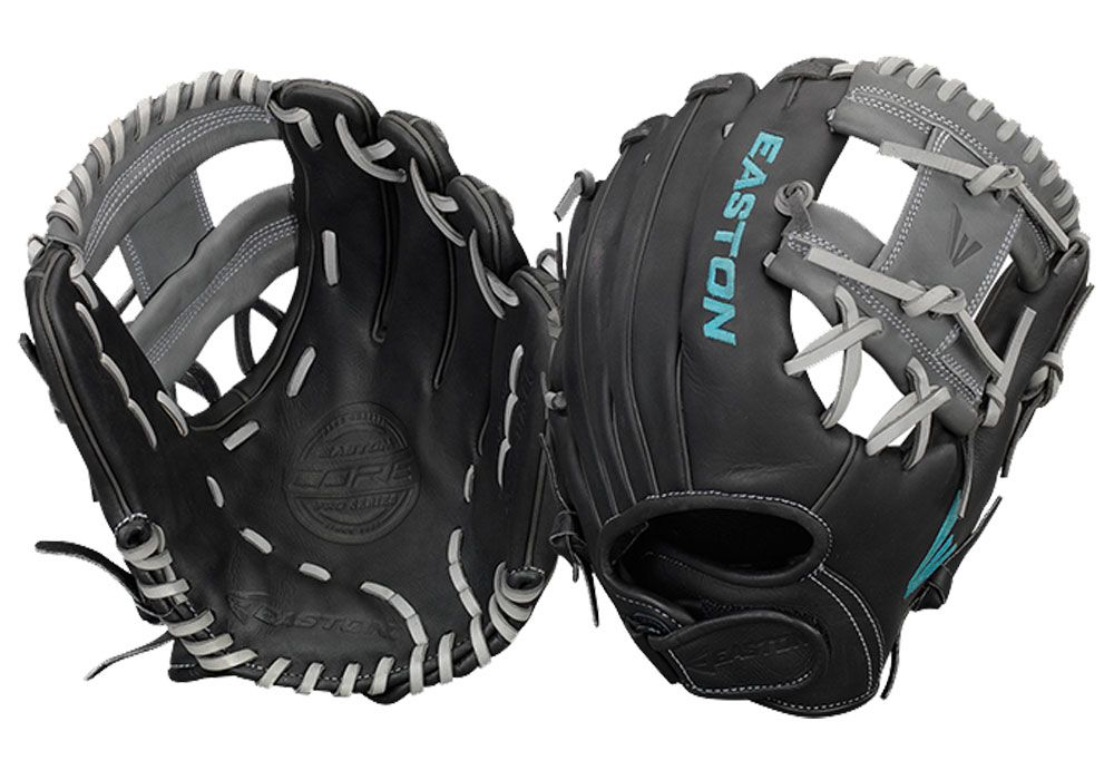 Easton Core Fastpitch Series COREFP1250BKGY 12.50 in Outfield//Pitcher Pattern