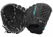 "Easton Core Pro Fastpitch Series 12.5"" Outfield Glove COREFP1250BKGY (2017)"