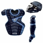 Easton M10 Custom Color Catcher's Set Adult - Navy / Carolina Blue