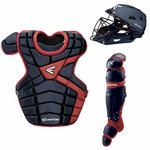 Easton M10 Custom Color Catcher's Set Adult - Navy / Red