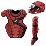 Easton M10 Custom Color Catcher's Set Intermediate - Red / Navy