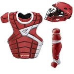 Easton M10 Custom Color Catcher's Set Youth - Red /White
