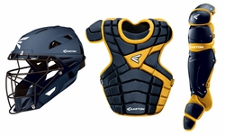Easton Navy/Gold Youth M10 Catcher's Set A165341