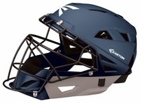 Easton Navy/Silver M10 Catcher's Helmet A165331 -- Large