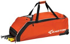 Easton E610W Orange Wheeled Bat Bag A159032OR
