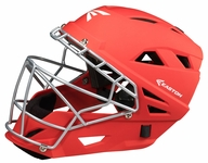 Easton Red Adult M7 Grip Catcher's Helmet A165319 -- Large