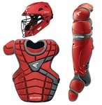 Easton Red/Silver Intermediate M10 Catcher's Set A165340RDSL