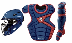 Easton Royal/Red Intermediate M10 Catcher's Set A165340