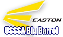 4 Easton Big Barrel USSSA Bats