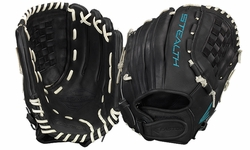 "Easton Stealth Pro Fastpitch Series 12.5"" Outfield Glove STFP1250BKWH (2017) Left Hand Throw Only"