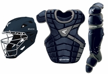 Easton Navy/Silver Youth M10 Catcher's Set with M7 Grip Helmet A165341