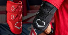 EvoShield Pro-SRZ Scarlet Batter's Double Strap Elbow Guard WB5706604