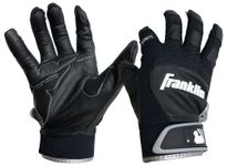 Franklin Adult Black Shok-Sorb X Batting Gloves