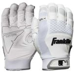 Franklin Shok-Sorb X White Adult Batting Gloves 20965FX