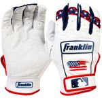 Franklin CFX Pro Fourth of July Adult Batting Gloves 21651F5
