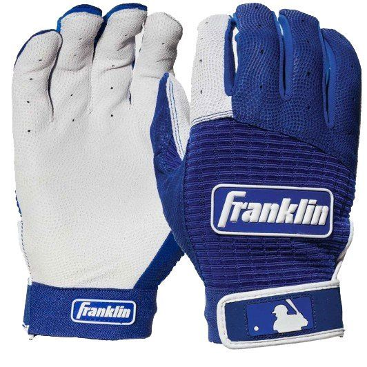 Franklin Pro Classic Adult Baseball Bating Gloves Size XL Cold Series NWT Black