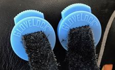 GloveLock Glove Lace Locks Set of 2 -- Columbia Blue