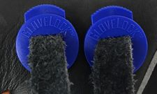 GloveLock Glove Lace Locks Set of 2 -- Blue