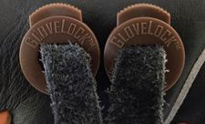 GloveLock Glove Lace Locks Set of 2 -- Brown