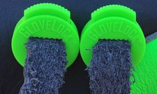 GloveLock Glove Lace Locks Set of 2 -- Neon Green
