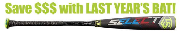 "Louisville Select 719 2-5/8"" Youth USA Bat WTLUBS719B8 -8oz (2019)"