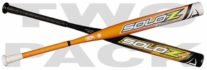 Louisville Slugger Solo Z Slowpitch Bats WTLSOA16B and WTLSOU16PL (2016) 2-PACK