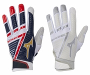 Mizuno Adult B-303 Batting Gloves