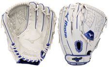 Mizuno MVP Prime SE Fastpitch Series White/Royal Gloves
