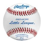 "Rawlings 9"" Competition Little League Senior White Baseballs RSLL1 -- 1 DZ"