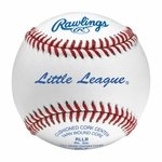 "Rawlings 9"" Little League White Baseballs RLLB -- 1 dz"