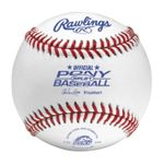 "Rawlings 9"" Pony Competition White Baseballs RPLB1 -- 1 DZ"