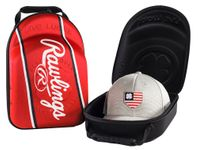 Rawlings Black Clover SE Red Patch Hat Caddie RBCCADP