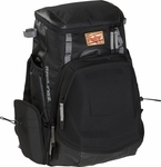 Rawlings Black/Gray Gold Glove Backpack R1000-B/GR