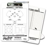 Rawlings Coaches Baseball Clipboard CLIP