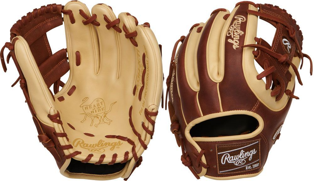 "PRO314-2CB Rawlings Heart of the Hide 11.5/"" Baseball Glove"