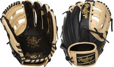"""Rawlings Heart of the Hide Series 11.75"""" Infield Glove PRO205-6BCSS"""