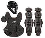 Rawlings Black Youth Player Series Catcher's Set PLCSI-B