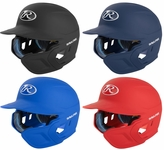 Rawlings Junior Mach Batting Helmet with Flap- Right Hand Batter
