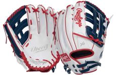 "Rawlings Liberty Color Series 13"" Outfield Softball Glove RLA130-6WNS (2018)"