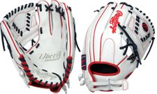 Rawlings Liberty Advanced Color Series White Gloves